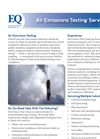 Air Emissions Testing Services Brochure