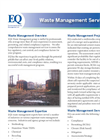 Waste Management Services Brochure
