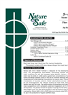 Nature Safe - 5-6-6 - Starter Fertilizer Brochure