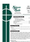 Nature Safe - 12-2-6 - Ammonium Sulfate Fortified Fertilizer Brochure