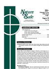Nature Safe - Model 10-0-8 - Nitrogen & Potassium Fertilizer Brochure