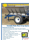49 - Row Crop Fertilizer and Lime Spreader Brochure