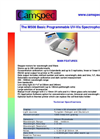 M508 - Basic Programmable UV–Visible Spectrophotometer – Brochure