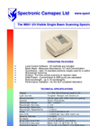 Camspec - M501 - Single Beam Scanning UV–Visible Spectrophotometer – Brochure