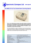 Camspec - M550 - Double Beam Scanning UV–Vis Spectrophotometer – Brochure