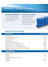 Model K2 2.85V/3400F - High Capacity Cells Brochure