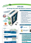 Model DTS DC - DC Energy Sub-Meter with Remote Communications Brochure