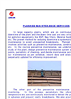 Planned Maintenance Service Brochure