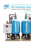 Model HFX - High Flow Ion-Exchange Water Purification System Brochure