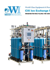 Model CIX 20 - Water Recycling Using Ion Exchange System Brochure