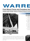 Model VTW - Front Mount Frame & Frameless Hoists Brochure