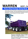 Model MSFL Series - Dump Truck Bodies Brochure
