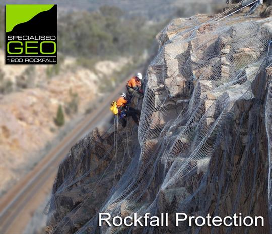 Rockfall protection specialists