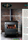 Model 50-93 E-Z - Flo Hopper Stove Brochure