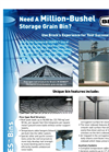 BROCK - M-Series - Stiffened Grain Bins/Silos  Brochure