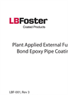 Plant Applied External Fusion Bond Epoxy Pipe Coating - Brochure