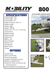 Mobility - Model 800 PTO - Dry Fertilizer Spreaders Datasheet