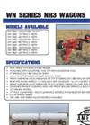 Model WN Series - Running Gears for Anhydrous Ammonia Tanks Datasheet
