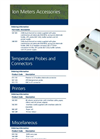 Bench Ion Meter Accessories Catalogue Page Brochure