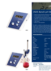 3505, 3510 and 3520 Bench pH Meters Catalogue Page Brochure