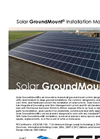 Solar GroundMount Rail Ground Mount System Manual