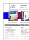Jim Engineering - GP-INC Series - General Purpose Laboratory Incubators - Brochure