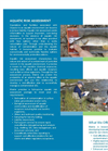 Aquatic Risk Assessment Services - Brochure