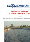 Lagoon and Ground Basin Sealing Brochure