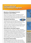International Licensing Program- Brochure