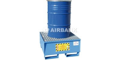 Airbank - Model 200 kg - Steel Solutions for the Storage Of 1 Drum