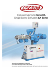 Model EA series - Single Screw Extruder Brochure