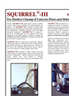 SQUIRREL - Model III - Pneumatically Operated Scabbler Brochure
