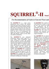 SQUIRREL - Model II - Piston Pneumatically Driven Scabbler Brochure