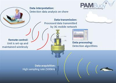 PAMBuoy - Marine Mammal and Marine Noise Monitoring System