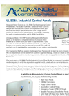 Model UL508A - Industrial Control Panel Builder - Custom Electrical and Industrial Control Panels Brochure