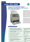 Oxygen Permeation Analyzer Lyssy OPT-5000 English Brochure
