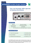 Portable Intrinsically Safe Portable Oxygen Analyzer EC92DIS English Brochure