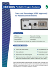 Portable Intrinsically Safe Portable Oxygen Analyzer EC92DIS Brochure