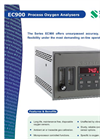 Process Oxygen Analyzer EC900 English Brochure