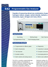 Programmable Gas Analyzer 542 American Brochure