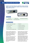 Programmable Gas Analyzer 542 Brochure