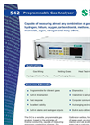 Programmable Gas Analyzer 542 English Brochure