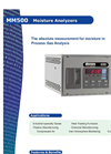 MM500 Moisture Analyzer American Brochure