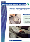 Permeation Testing Service Brochure