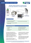 CA56 Cylinder Gas Analysis System Brochure
