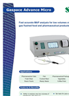 Gaspace Advance Micro Gas Analyser English Brochure