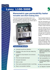 Lyssy L100-5000 Manometric Gas Permeation Analyzer American Brochure