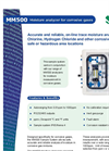 MM500 Moisture Analyzer for Corrosive Gases American Brochure