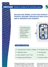 MM500 Moisture Analyzer for Corrosive Gases Brochure