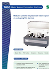 7000 Water Vapor Permeation Analyzer Brochure